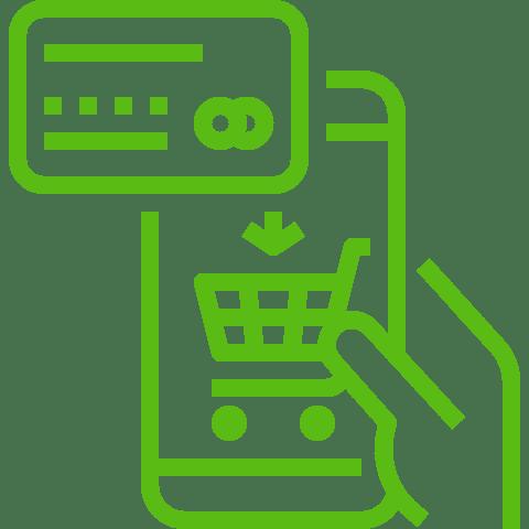 Achat en ligne suite à un SMS